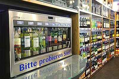 Weinverkostung - Bitte probieren Sie!